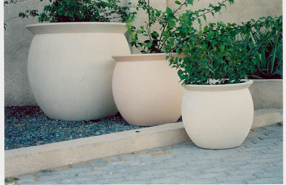 6. GRC Planters and decorative elements