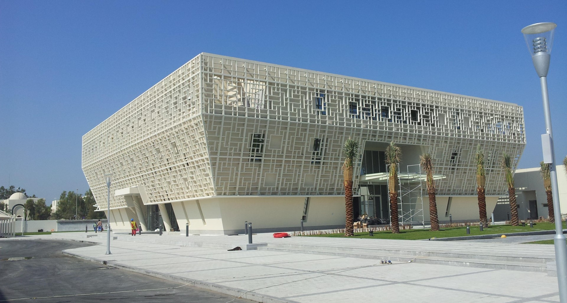 Korean Embassy Bldg., Abu Dhabi